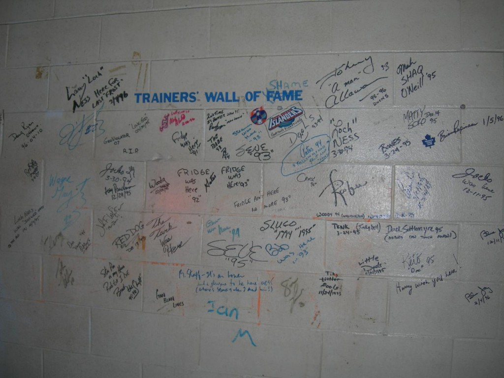 trainers wall of fame